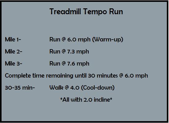 Treadmill Tempo