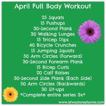 April Workout